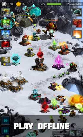 Ancient Planet Tower Defense Offline