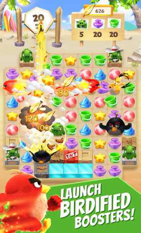 Angry Birds Match - Free Casual Puzzle Game