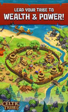 Celtic Tribes - Building Strategy MMO