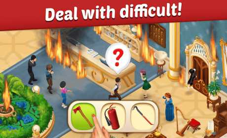 Family Hotel: Renovation & love story match-3 game