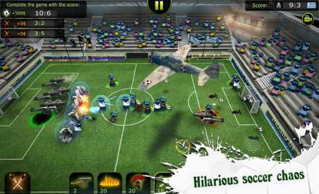 FootLOL: Crazy Soccer! Action Football game