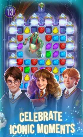 Harry Potter: Puzzles & Spells - Matching Games