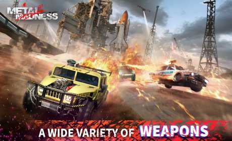METAL MADNESS PvP: Car Shooter & Twisted Action