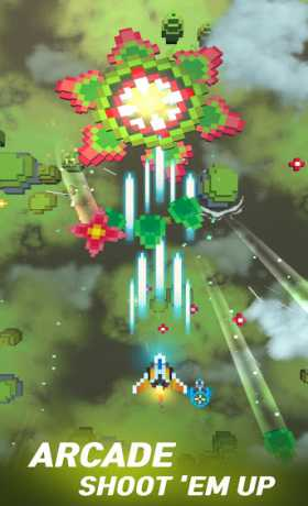 Retro Shooting: Plane Shooter Games - Shoot 'em up