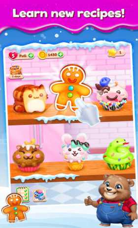 Sweet Escapes: Design a Bakery with Puzzle Games