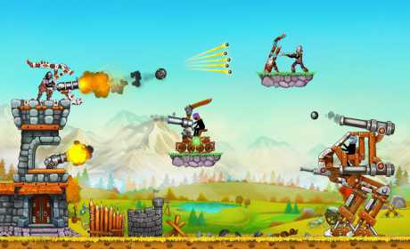 The Catapult 2 — Grow your castle tower defense
