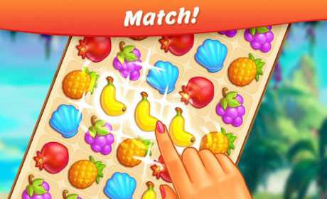 Tropical Forest: Match 3 Story