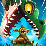 Hungry Dragon™ 2.0 Apk + Mod + Data for android