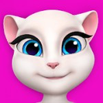 My Talking Angela 4.3.3522 Apk + Mod + Mega Mod for android