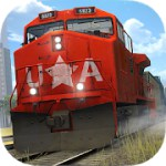 Train Simulator PRO 2018 1.3.7 Apk + Mod (Unlimited Money) + Data for android