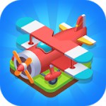 Merge Plane - Click & Idle Tycoon 1.15.1 Apk + Mod (Coins/Diamonds) for android