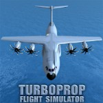 Turboprop Flight Simulator 3D 1.22 Apk + Mod (Unlimited Money) for android
