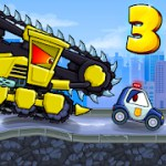Car Eats Car 3 - Racing Game 2.1 b310 Apk + Mod (Unlimited Money/Free shopping) for android