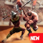 Gladiator Heroes Clash: Fighting and Strategy Game 3.2.7 Apk + Data for android