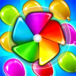 Balloon Paradise - Free Match 3 Puzzle Game 3.9.5 Apk + Mod (Unlimited Coins) for android