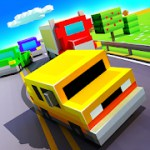 Blocky Highway: Traffic Racing 1.2.0 Apk + Mod (Unlimited Money) for android
