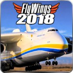 Flight Simulator 2018 FlyWings Free 2.2.4 Apk Free/Full + Data for android
