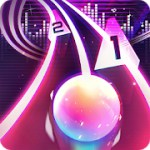 Infinity Run: Rush Balls On Rhythm Roller Coaster 1.9.2 Apk + Mod (Unlimited Money) for android