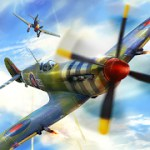 Warplanes: WW2 Dogfight 1.9 Apk + Mod (Gold/ Silver/ Fuel/ Money/ Unlocked) for android
