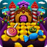 Candy Donuts Coin Party Dozer 1.2.0.1 Apk + Mod for android