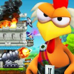 CRAZY CHICKEN strikes back 1.3.113_113 Apk Full for android