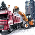 Loader & Dump Truck Winter SIM 1.3 Apk + Mod for android