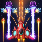 Space Attack - Galaxy Shooter 1.5.14 Apk + Mod (Unlimited Money) for android