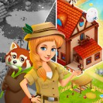 Zoo Island: Exotic Garden 1.1.2 Apk + Mod (Unlimited Money) for android